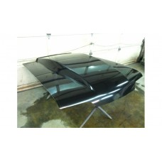 '87-'93 Fox Body Mustang 4'' Hood (Low At Windshield)