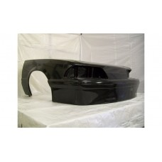 '87-'93 Fox Body Mustang GT Outlaw 9'' 1 Piece Front Clip